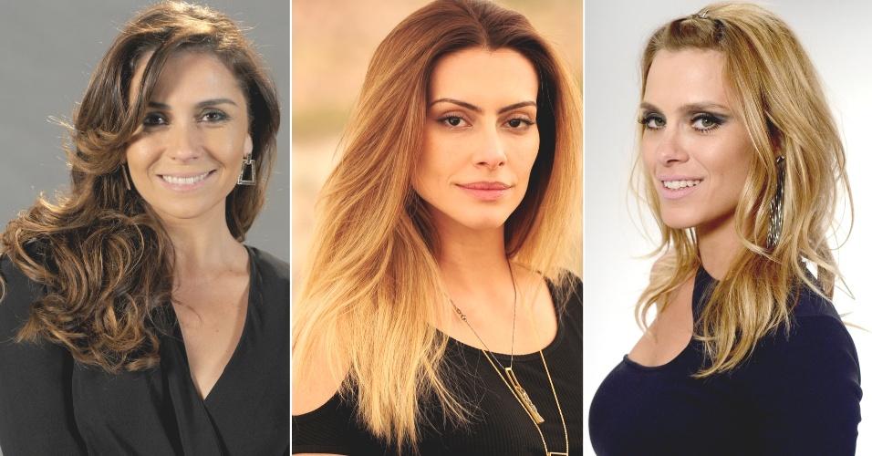 Giovanna Antonelli, Cléo Pires e Carolina Dieckmann - Salve Jorge