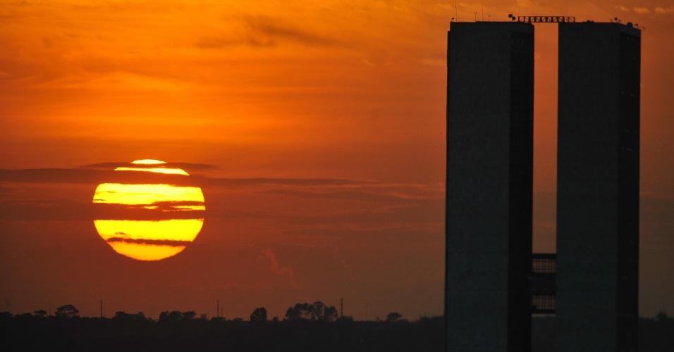Resultado de imagem para Brasília ao amanhecer