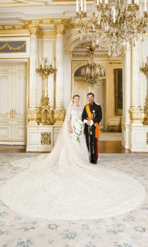 casamento do príncipe herdeiro de Luxemburgo, William, com a condessa belga Stéphanie de Lannoy