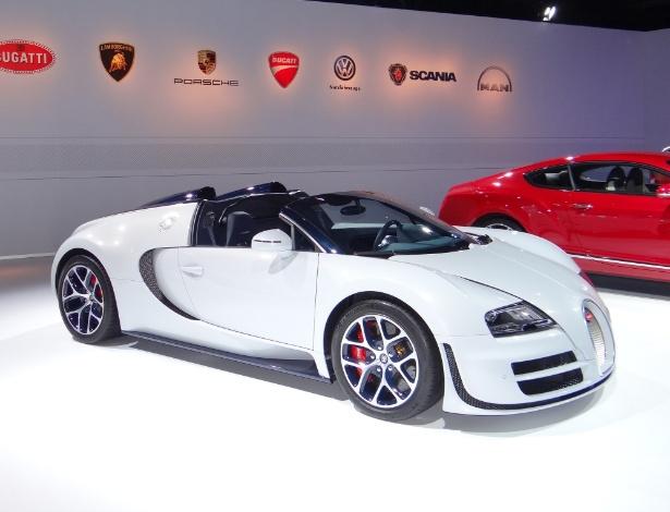 Bugatti Veyron Vitesse: se você gostou, pode esperar sentado, porque ele não está no Salão - André Deliberato/UOL