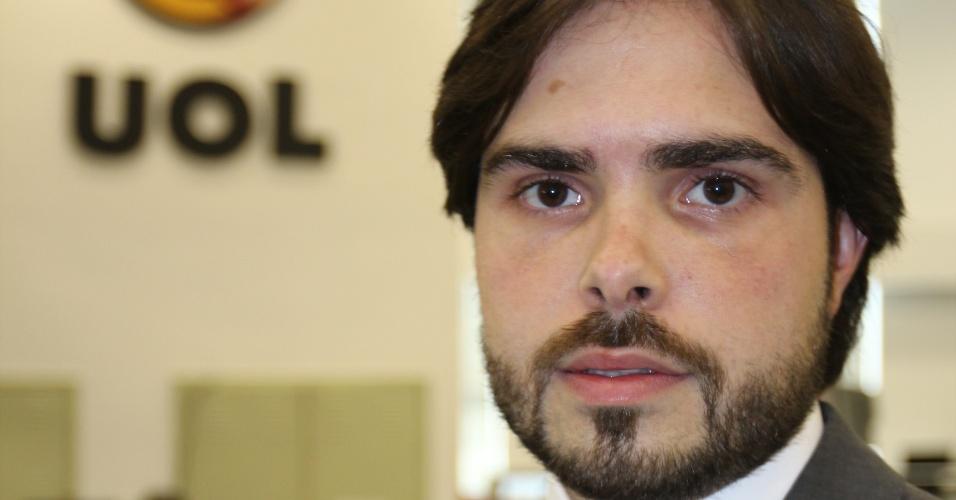22.out.2012 - O advogado criminalista Alexandre Daiuto Leão Noal