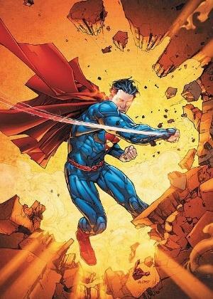 """O herói Super Homem, personagem DC e que também terá mais HQ""""s online - Reprodução/DC Comics"""