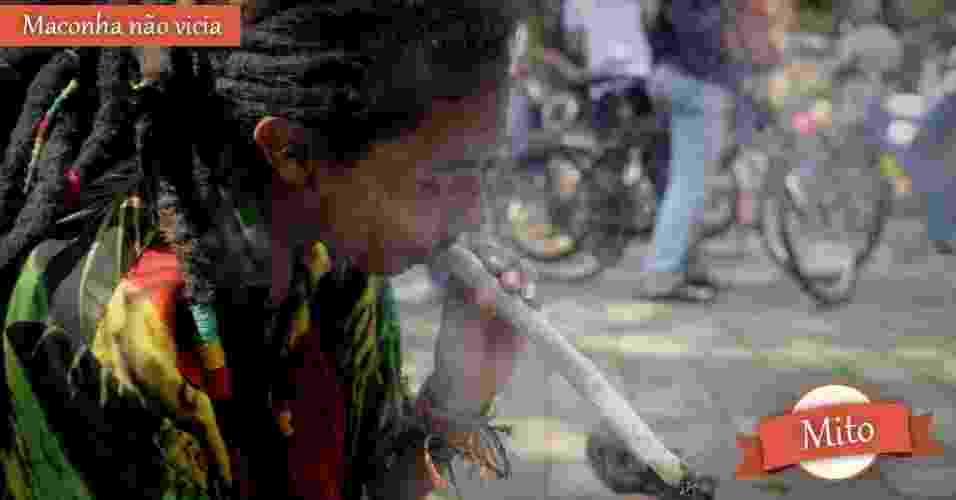 homem fumando maconha - Luiz Eduardo Noriega/EFE