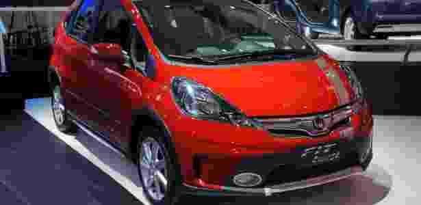 Honda Fit Twist é uma espécie de versão aventureira do monovolume, em geral tido como careta - Eugênio Augusto Brito/UOL