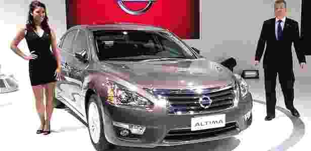 Nissan Altima é apresentado no Salão de São Paulo: sedã mostra que marca quer brigar de verdade - André Deliberato/UOL