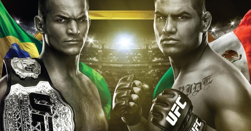 UFC divulga cartaz do UFC 155, que terá a revanche de Cain Velásquez contra o brasileiro Júnior Cigano, campeão dos pesados da organização