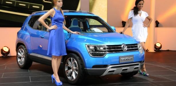 Taigun Concept foi apresentado no último Salão de SP, mas VW se calou depois - Murilo Góes/UOL