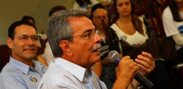 Antonio Carlos Pannunzio (PSDB) durante encontro com jovens em Sorocaba (SP)