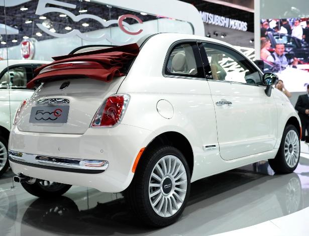 Importado do México, Fiat 500 C, a R$ 57.900, é a novidade da marca - Divulgação