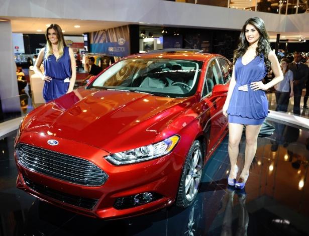 Ford Fusion no Salão de São Paulo: vai lá no estande que ele está brilhando! - Divulgação