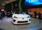 Lexus exibe único exemplar do LFA de R$ 2,3 mi - André Deliberato/UOL