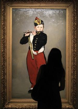 """""""O Tocador de Pífano"""", do pintor francês Edouard Manet, obra que foi exibida no Brasil em 2012 - Ricardo Cassiano/UOL"""