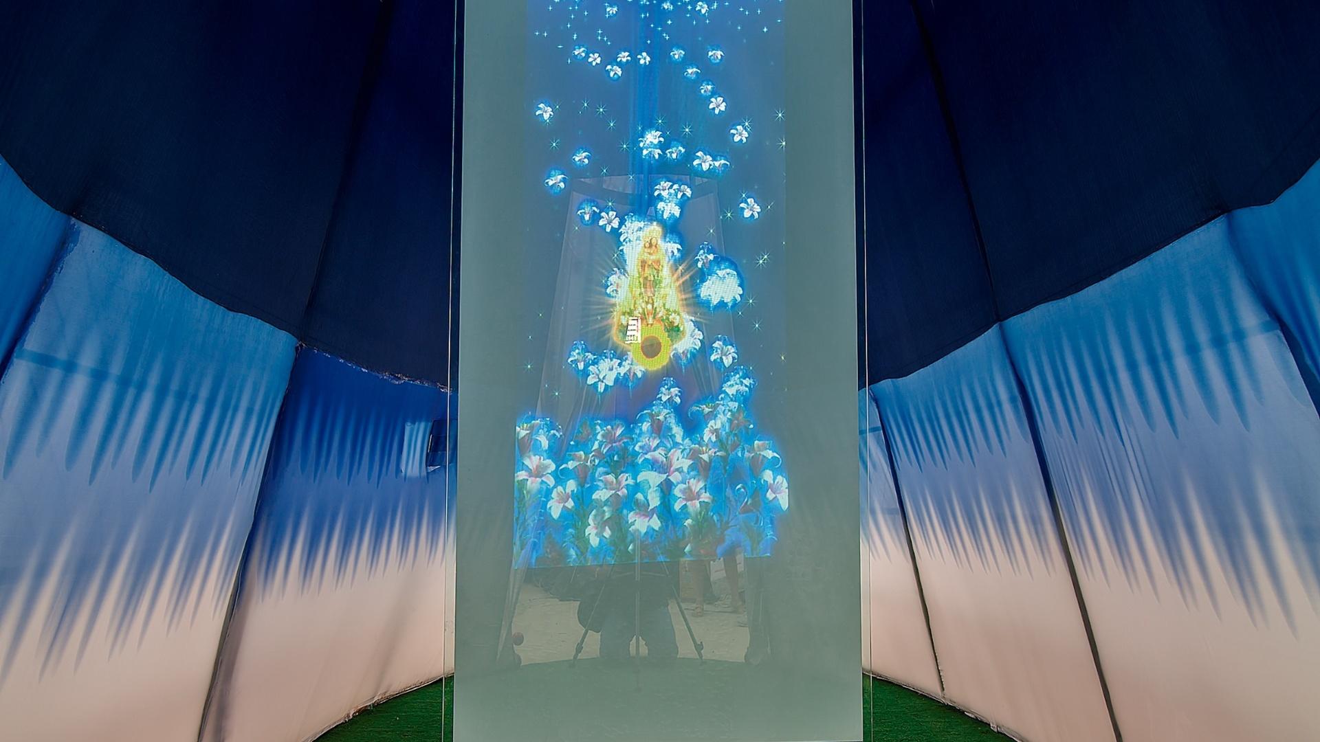 Oratório assinado por Baviera Madureira e Leila Giusti. A Casa Cor Pará, edição 2012, segue em cartaz até dia 25 de novembro. A mostra tem lugar na Av. Conselheiro Furtado, 100, em Belém