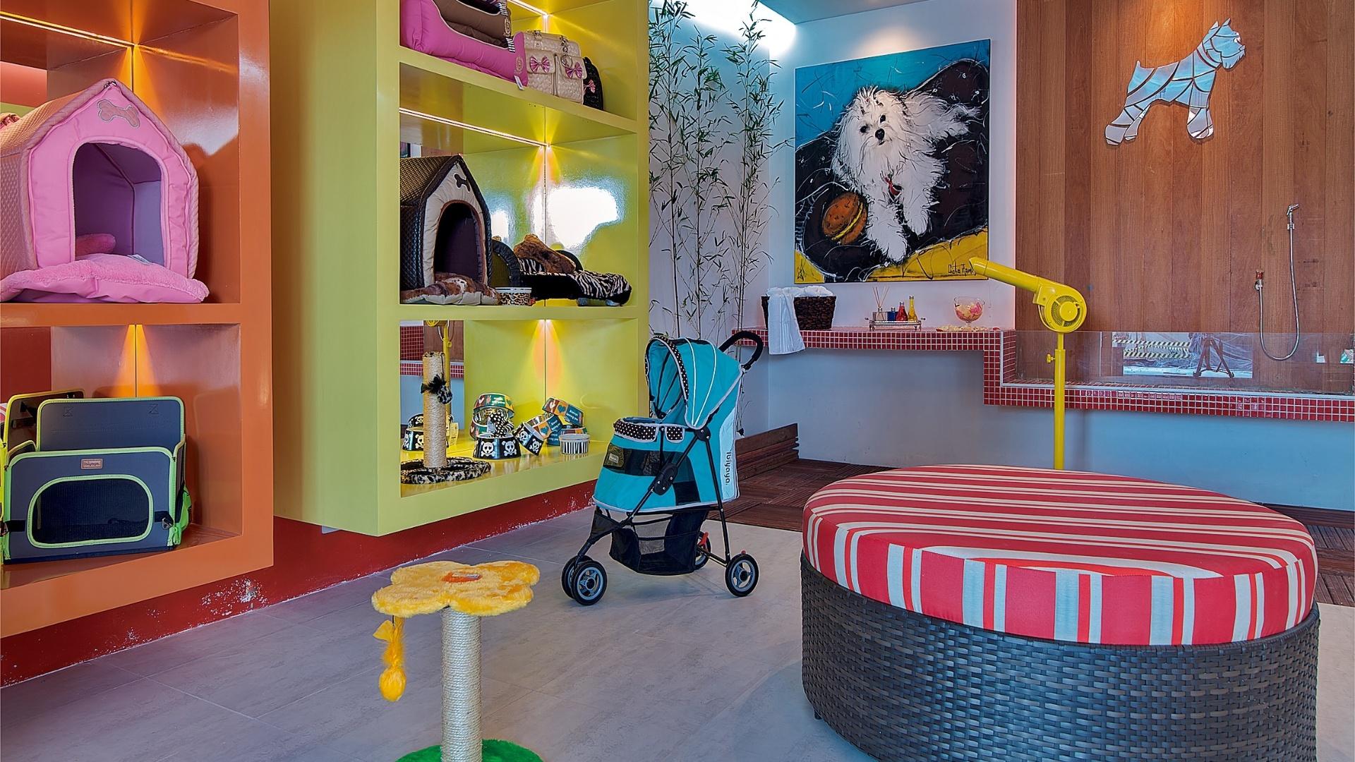Pet Shop criado por Gustavo e Simone Martins. A Casa Cor Pará, edição 2012, segue em cartaz até dia 25 de novembro. A mostra tem lugar na Av. Conselheiro Furtado, 100, em Belém