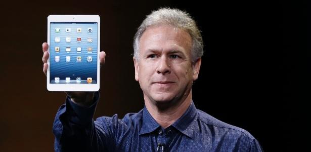 Phil Schiller, vice-presidente de marketing da Apple, apresenta iPad Mini. Tablet tem 7,9 polegadas - Marcio Jose Sanchez/AP