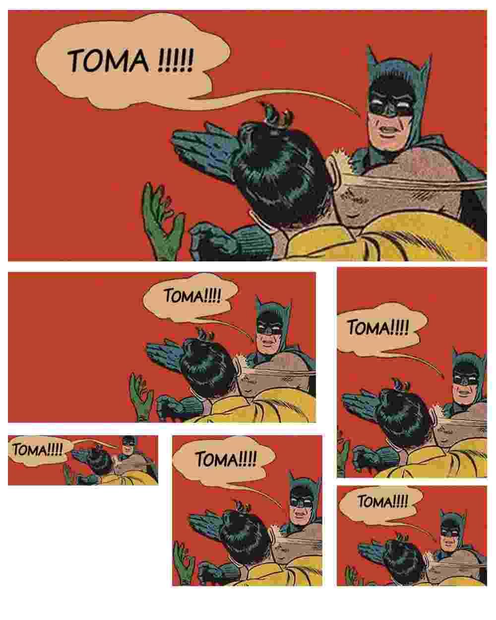 Tapa de Batman em Robin vira desculpa para broncas no Facebook; veja seleção - Arte/UOL