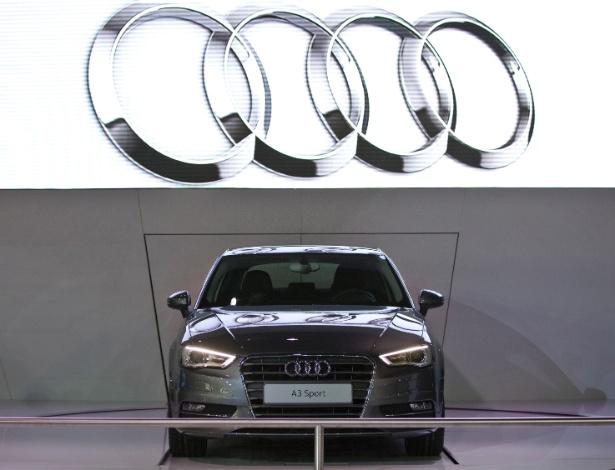 Audi mostra uma versão do novo A3, que na verdade serão três; aguarde e comprove - Simon Plestenjak/Folhapress