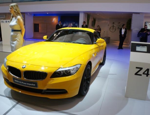 Z4 sDrive 20i Design Pure Impulse se veste de amarelo para festa da BMW - Eugênio Augusto Brito/UOL