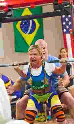 Brasileira Marilia Coutinho trabalha em preparação para competição internacional nos Estados Unidos - Helena Coutinho/Divulgação