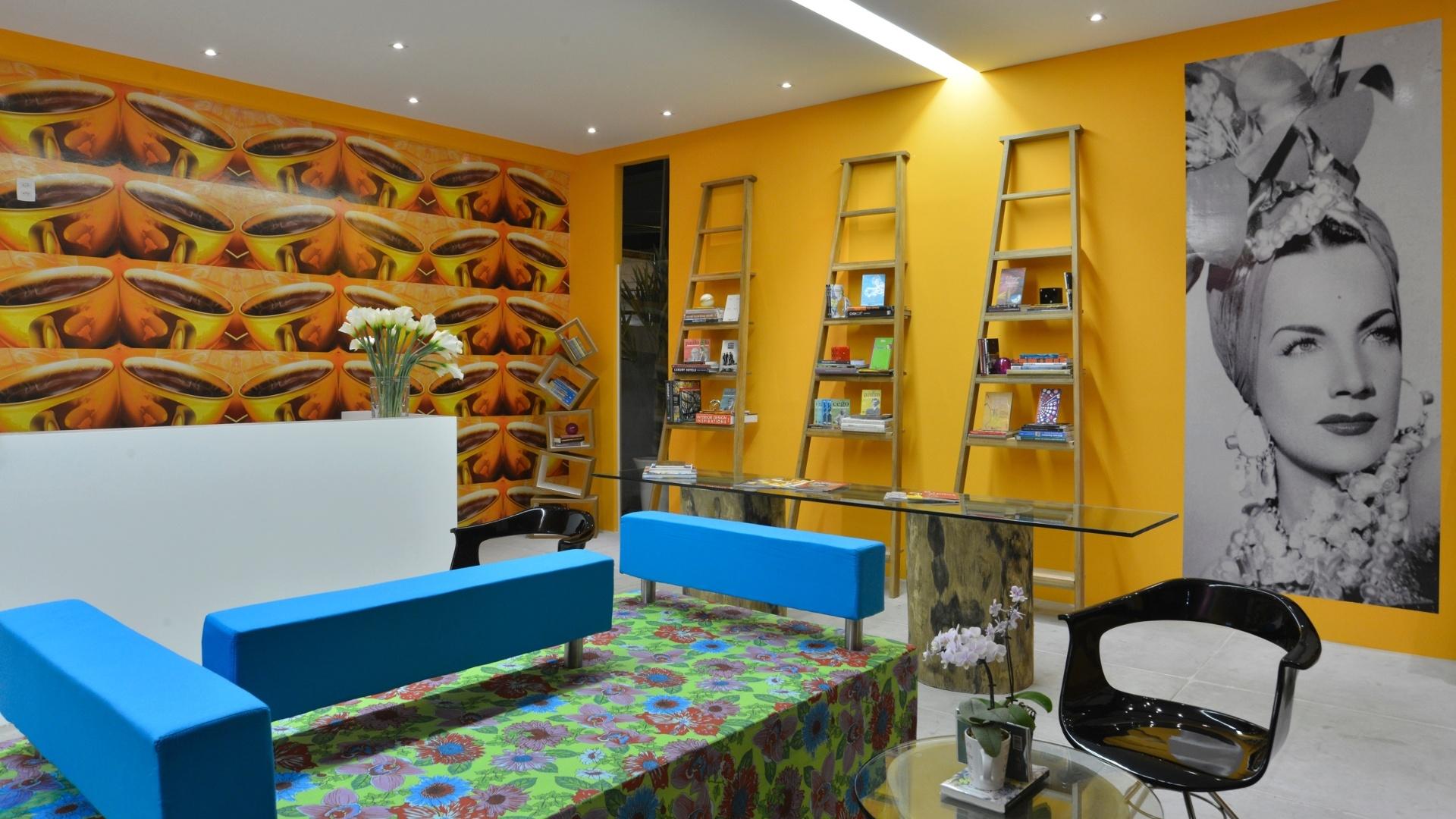 A arquiteta Ligia Silveira criou o ambiente