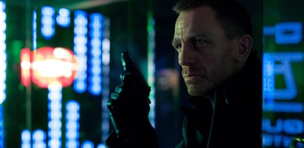 """Daniel Craig em cena de """"007 - Operação Skyfall"""", filme baseado na obra de Ian Fleming - Divulgação"""