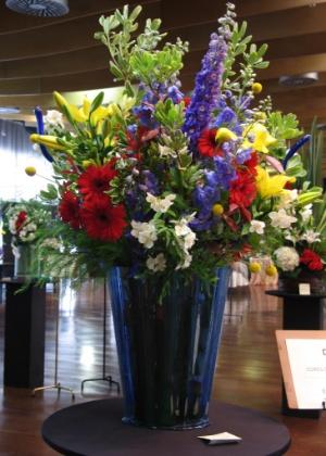 Arranjos florais são uma das atrações da 41ª Exposição do Clube Paulista de Jardinagem - Divulgação
