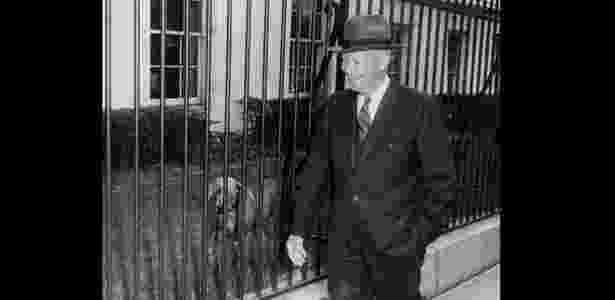 Dwight Eisenhower - Presidential Pet Museum/Divulgação - Presidential Pet Museum/Divulgação