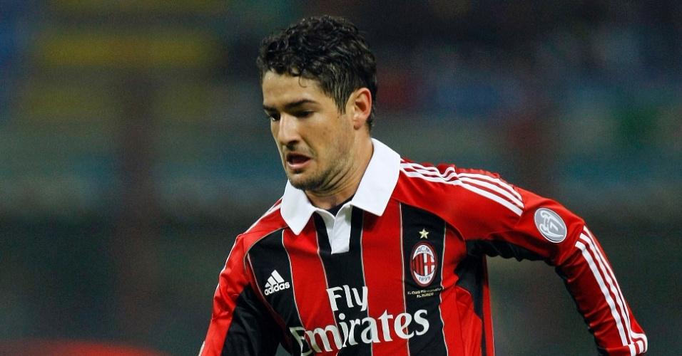 Pato voltou a ser titular do Milan após 8 meses (27/10/2012)