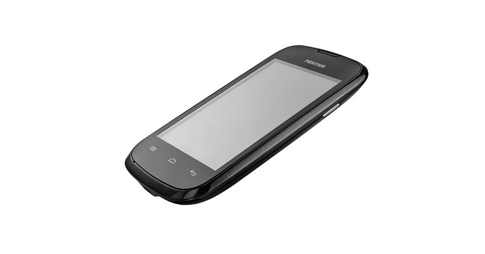 29.out.2012 - O Ypy S350, smartphone da Positivo, tem tela multitoque de 3,5 polegadas, roda sistema operacional Android 2.3.5, tem memória de 512 MB, cartão de 2 GB e câmera traseira de 3 megapixels