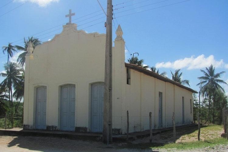 A antiga capela da Praia do Saco foi construída em 1938