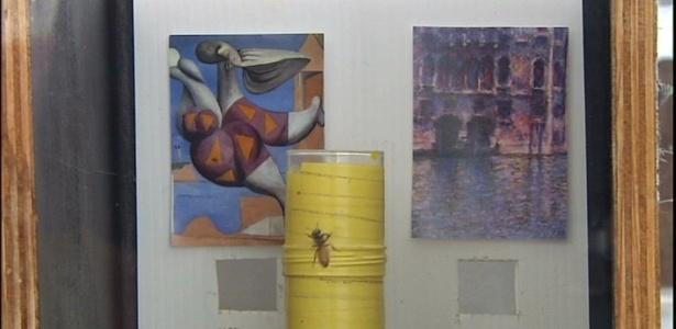 Estudo mostrou que abelhas são capazes de identificar o estilo de cada artista - BBC Brasil