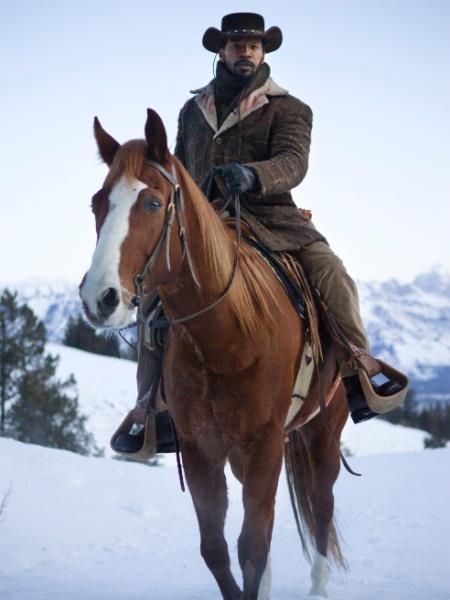 """Novas imagens de """"Django Livre"""", novo longa de Quentin Tarantino foram divulgadas (29/10/12). O ator Jamie Foxx está no elenco - Divulgação/Sony Pictures"""