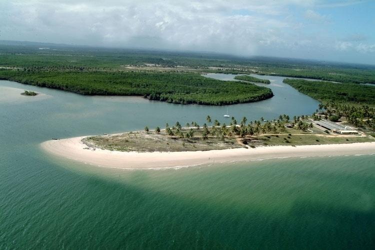 Ponta da Praia do Saco, em Sergipe