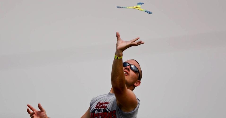 Mundial de bumerangue em Itu