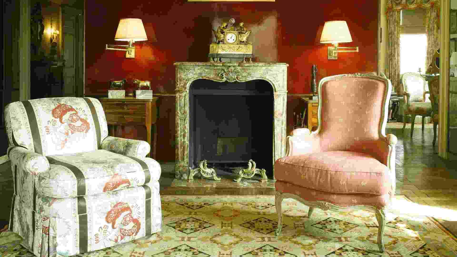 Objetos e ambientes da casa da filantropa Brooke Astor, leiloados pela Sotheby's (imagem do NYT, usar apenas no respectivo material) - Divulgação Sotheby's/ The New York Times