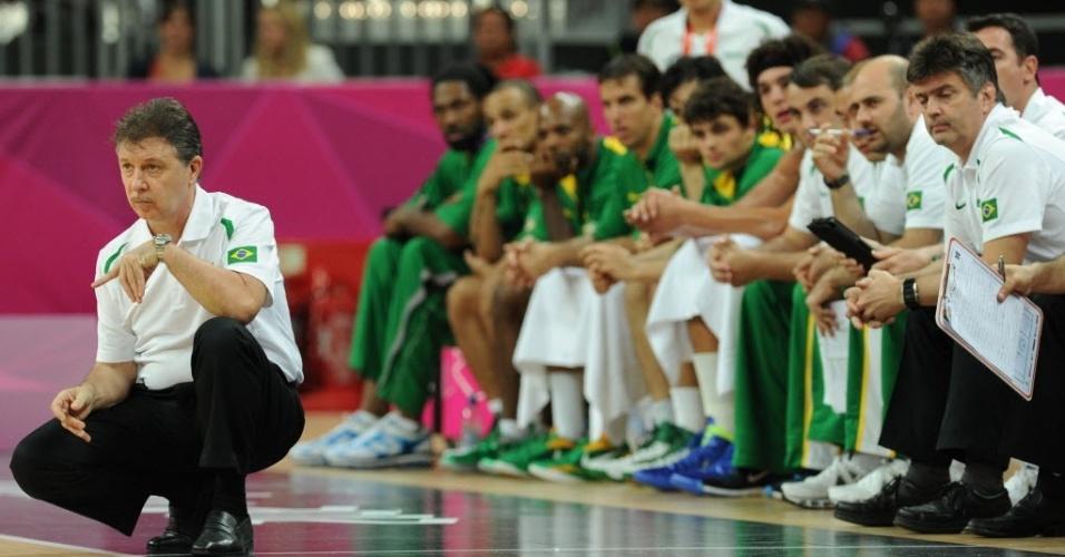 Rubén Magnano comanda a seleção masculina nos Jogos Olímpicos de Londres 2012