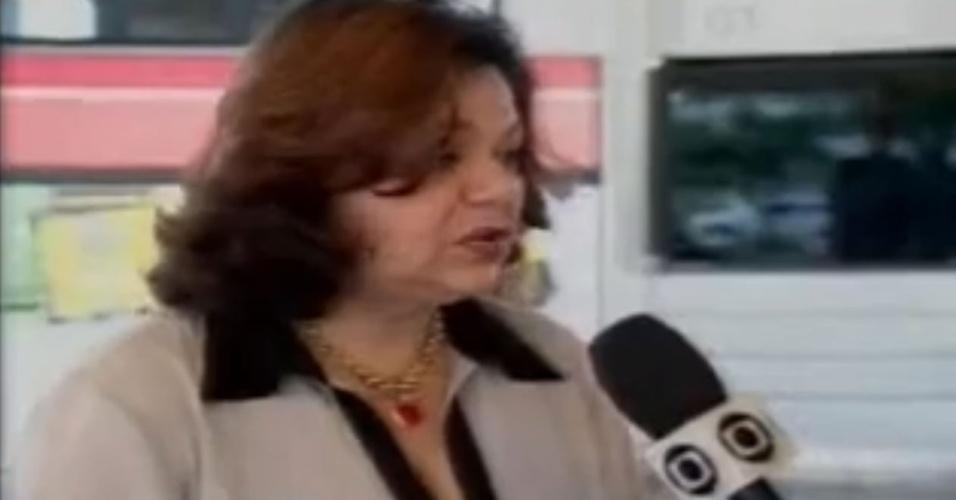 """Ruth Lemos ficou famosa na internet após """"gaguejar"""" durante uma entrevista ao vivo"""