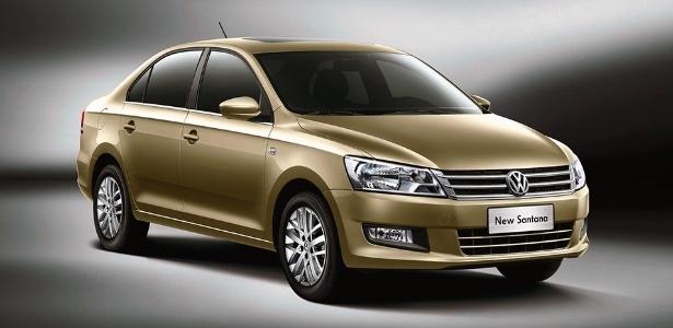 Volkswagen Santana será feito em São Bernardo do Campo (SP) com produção anual de 50 mil unidades - Divulgação