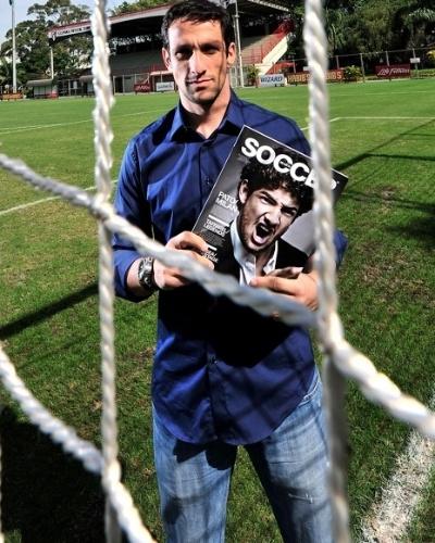 Ex-lateral do São Paulo e da seleção brasileira, Belletti já fez curso para ser treinador e hoje é sócio e pauteiro da revista Soccer (imagem de 2012)