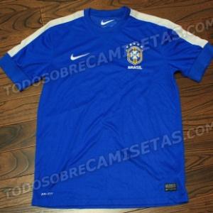 Possível camisa dois da seleção brasileira para a Copa das Confederações  vaza na internet - Futebol -  estacao.titulo 3584824cb3a4b