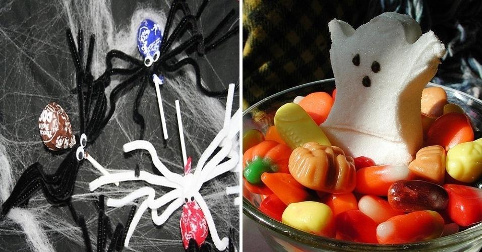 """O Tumblr """"Strangers have the best candy"""" publica fotos de guloseimas enviadas por outros usuários. Seguindo a época do ano, o Tumblr está postando imagens de doces de Halloween"""