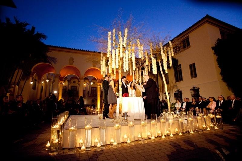 Cerimônia montada no pátio do hotel Biltmore Hotel (www.biltmorehotel.com), em Coral Gables, Miami
