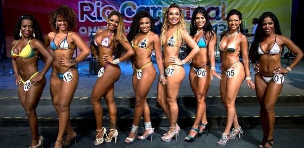 Finalistas a Rainha do Carnaval do Rio de Janeiro 2013 (1/11/12) - Divulgação