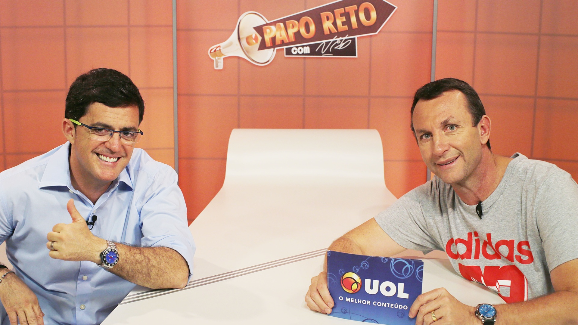 Jornalista esportivo Fernando Fernandes é entrevistado por Neto no programa