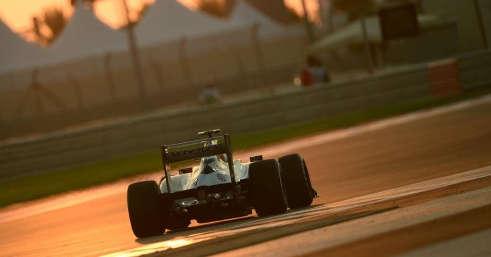 Bruno Senna foi o 11º colocado nos treinos livres para o GP dos Emirados Árabes
