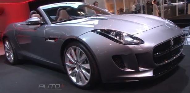 O roadster Jaguar F-Type alia tradição, linhas atuais e boa pegada com seu V8 de 510 cavalos - Reprodução