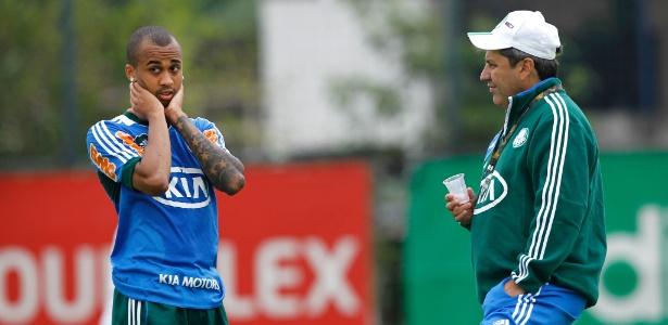 Volante Wesley tem proposta do Atlético-MG, mas Gilson Kleina conta com o jogador - Almeida Rocha/Folhapress