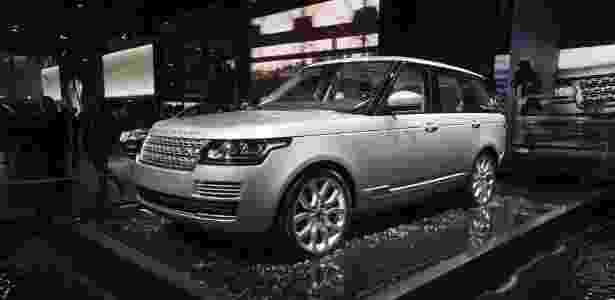 Land Rover aprimora Range Rover - JOEL SAGET/AFP - JOEL SAGET/AFP