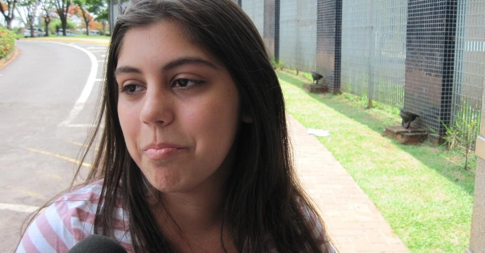 3.nov.2012 - A estudante Letícia Perissinoto fará neste sábado o Enem 2012 em Ribeirão Preto