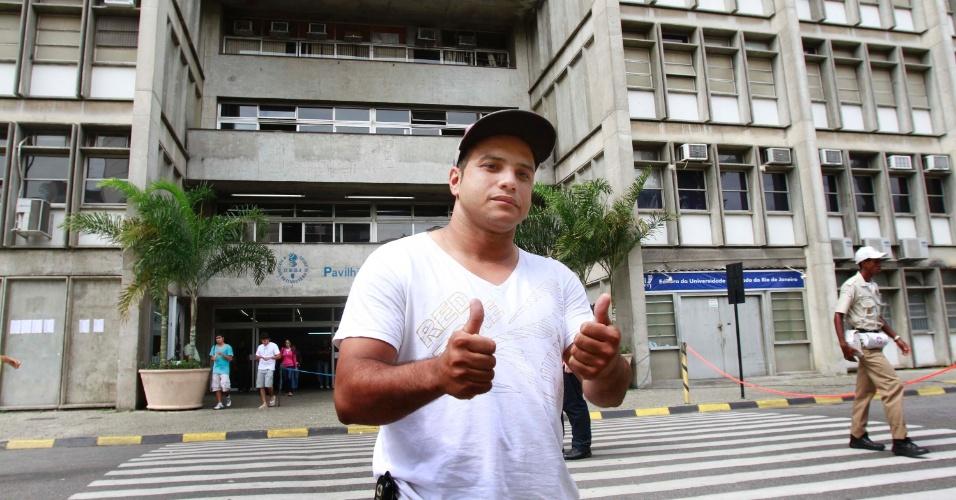 4.nov.2012 - Bruno Soares dos Santos, que fez o Enem 2012 no Rio de Janeiro, encontrou dificuldades na prova de matemática